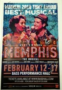 Win a cast-signed MEMPHIS poster!