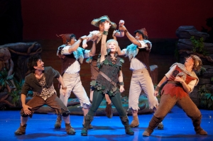 Cathy Rigby is winning raves for her role as Peter Pan. Photo: Isaac James.
