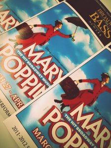MARY POPPINS made its Bass Hall debut in 2012.