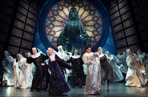 Theater Jones praised SISTER ACT's staging and choreography. Photo: Joan Marcus.