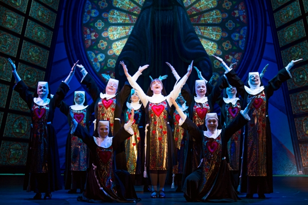 Critics are rejoicing over SISTER ACT! Photo: Joan Marcus.