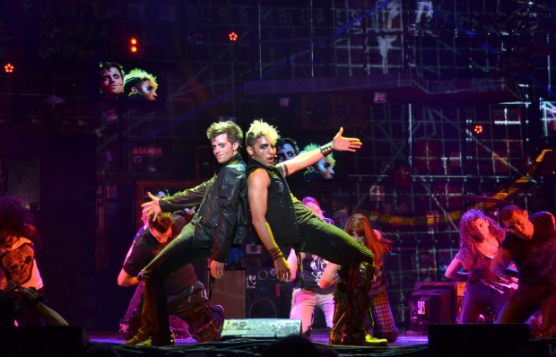 AMERICAN IDIOT rocks out at Bass Hall on March 19. Photo: John Daughtry.