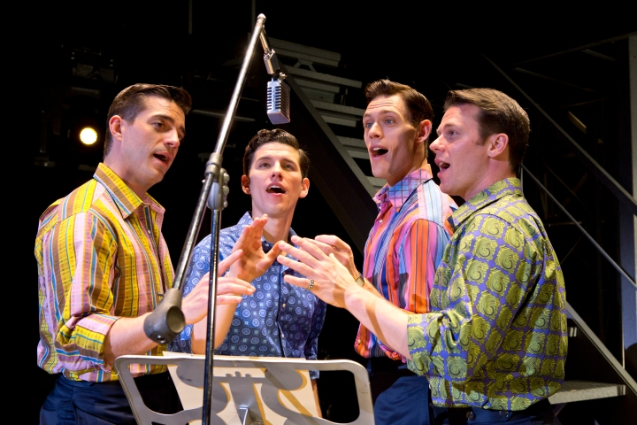 JERSEY BOYS makes its Bass Hall June 3-15, 2014. Photo: Jeremy Daniel.