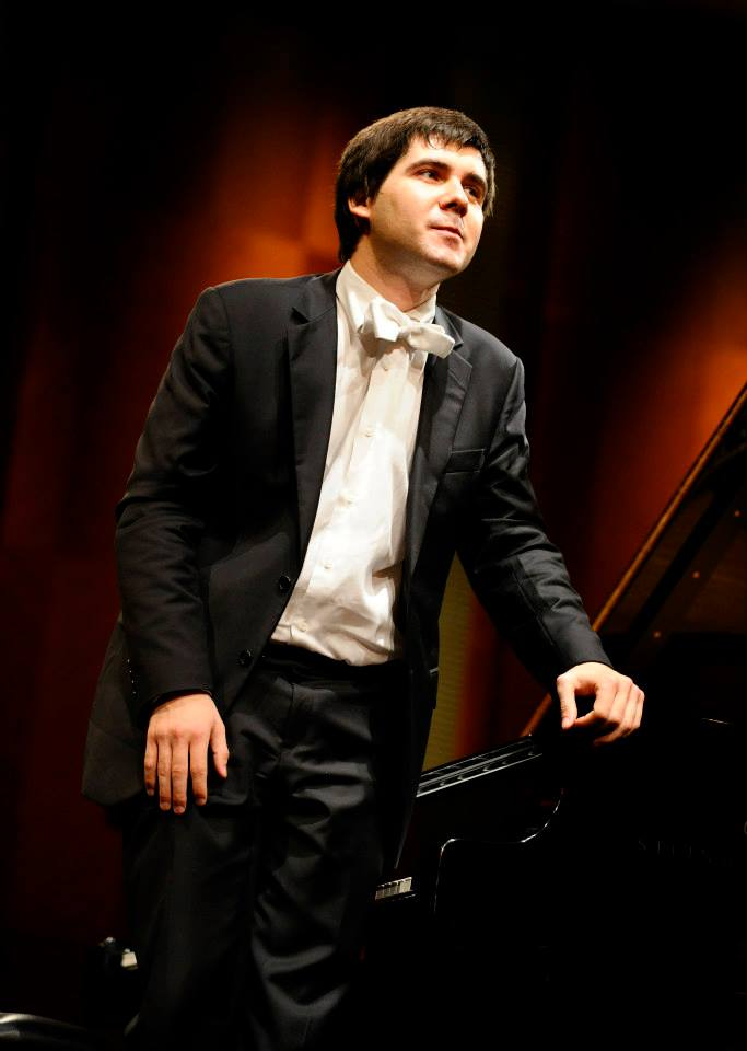 Vadym Kholodenko, winner of the 2013 Cliburn competition. Photo: Photo: The Cliburn/Ralph Lauer.