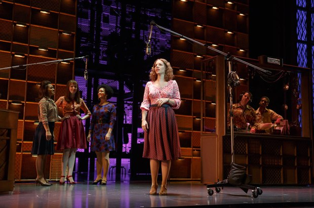 Jessie Mueller as Carole King in BEAUTIFUL. Photo: Joan Marcus.