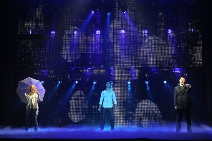The special effects extravaganza Ghost The Musical makes its Bass Hall debut this week. Photo by Joan Marcus.