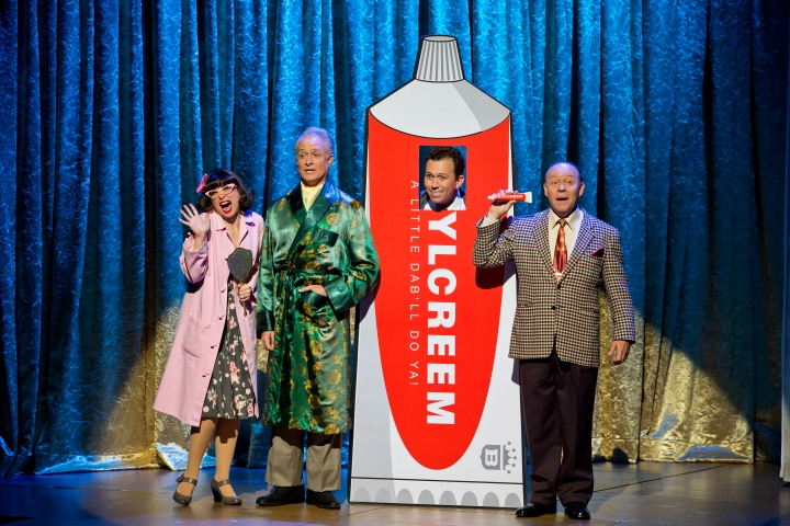 Jayme Lake, Gregory Franklin, Carlos Martin and Mark Christopher Tracy in I LOVE LUCY® LIVE ON STAGE (Photo by Jeremy Daniel)