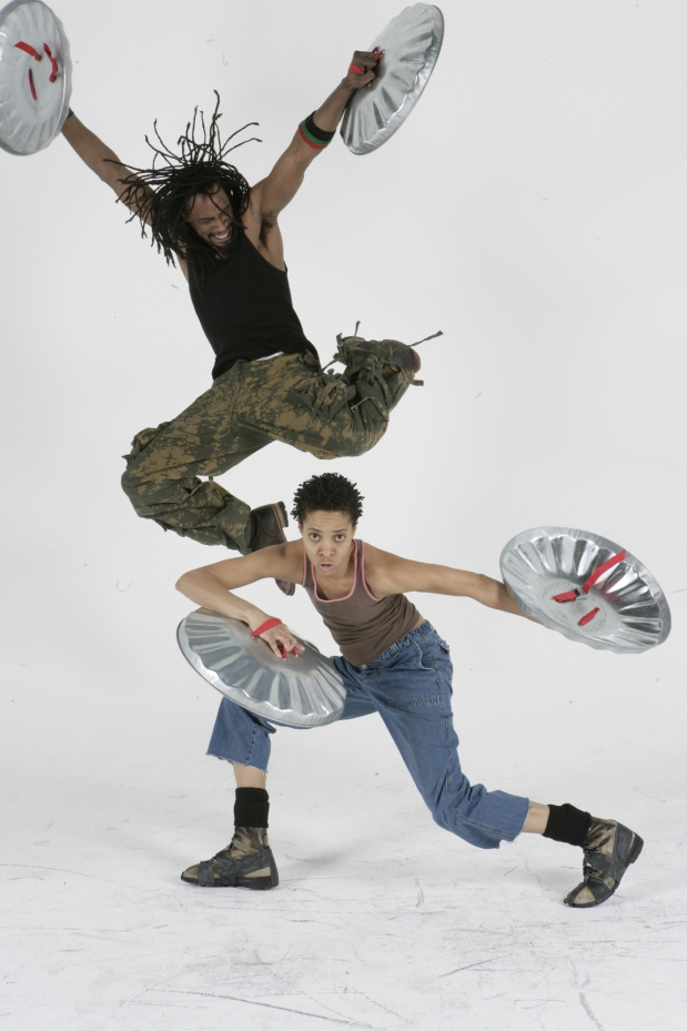 Flipping Their Lids: STOMP bangs its way back to Bass Hall next month. Photo: Junichi Takahashi.