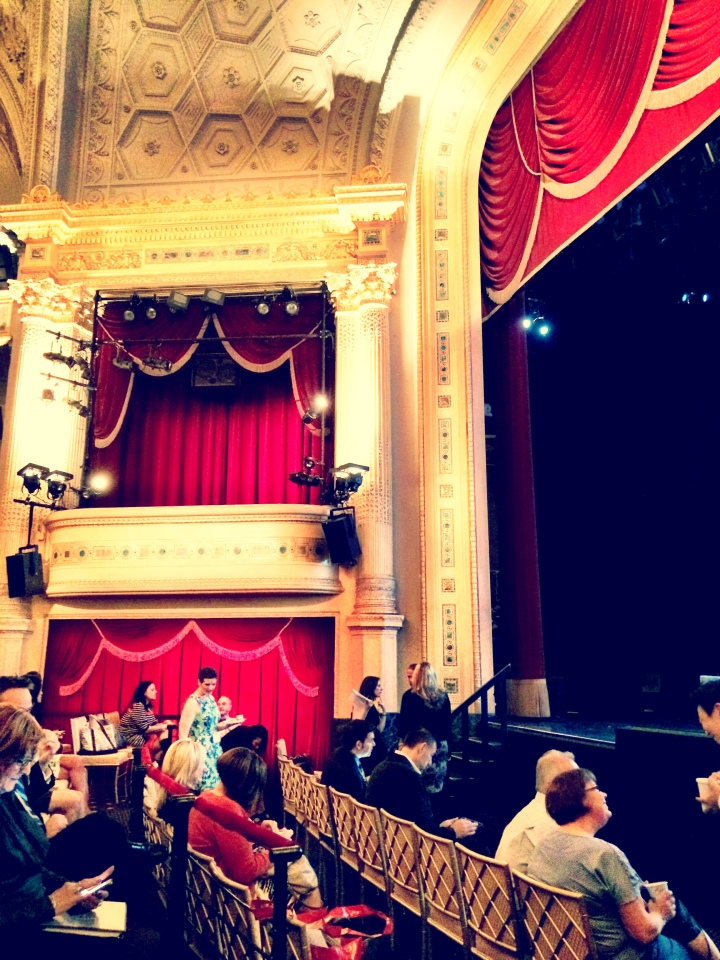 New York's beautiful Hudson Theatre, where The Broadway League's Spring Road Conference was held last week.