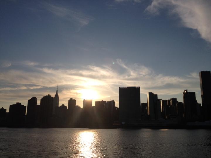 Goodbye, New York. Same time, next year.