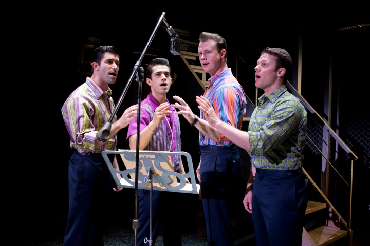 The JERSEY BOYS will work their way back to North Texas in June.