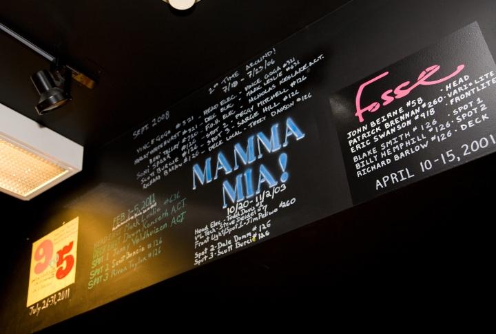 Mamma Mia!, Fosse and 9 to 5.
