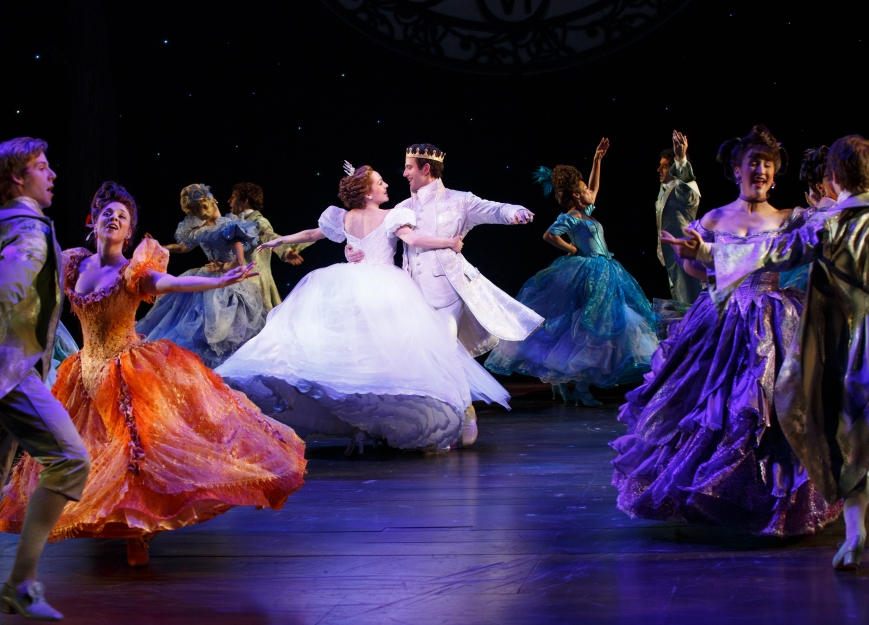 Rodgers + Hammerstein's CINDERELLA comes to Bass Hall June 23-28, 2015.  Photo by Carol Rosegg.