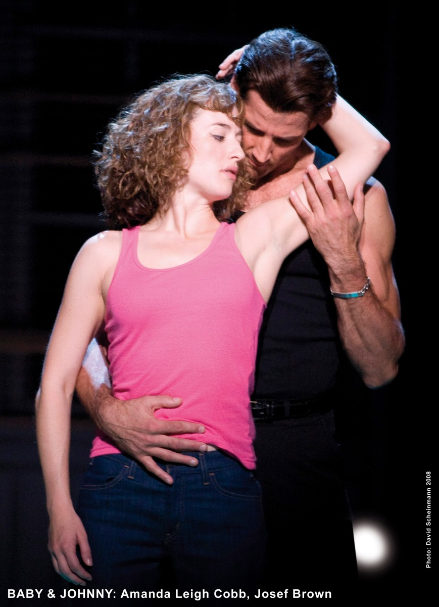 Amanda Leigh Cobb and Josef Brown are having the times of their lives in DIRTY DANCING, based on the cult hit film of the same name. See it live  July 7-12. Photo by David Scheinmann.