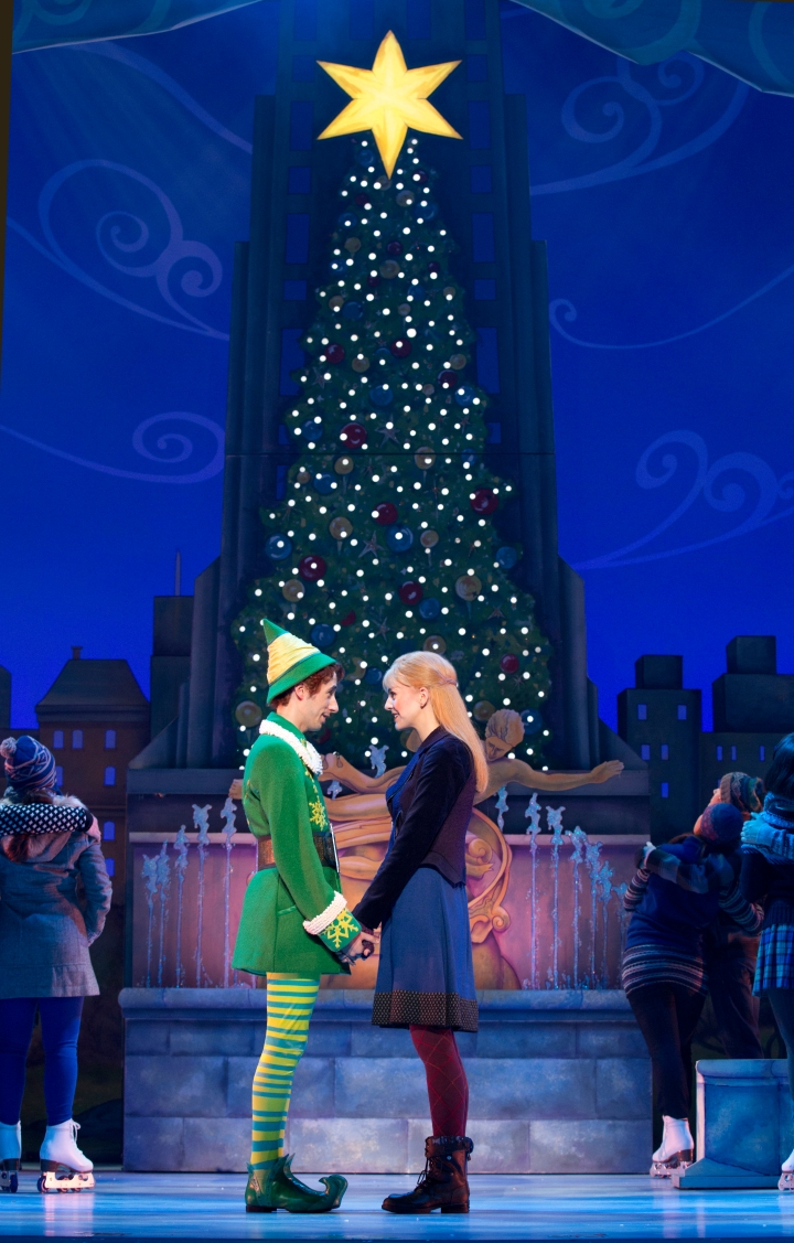 The humorous and heartwarming Christmas story, ELF, comes to life at Bass Hall Nov. 18-23, 2014. Photo: Joan Marcus.