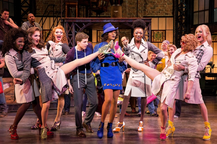KINKY BOOTS will kick up its heels at Bass Hall Oct. 27-Nov. 1, 2015. Photo by Matthew Murphy.