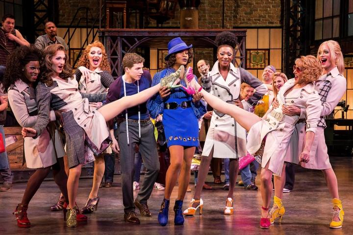 KINKY BOOTS will kick up its heels at Bass Hall Oct. 27-Nov. 1, 2015. Photo by Matthew Murphy.