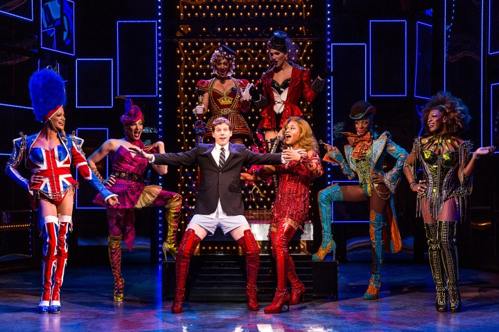 The Tony Award-winning KINKY BOOTS is here Oct. 27-Nov. 1, 2015. Photo by Matthew Murphy.