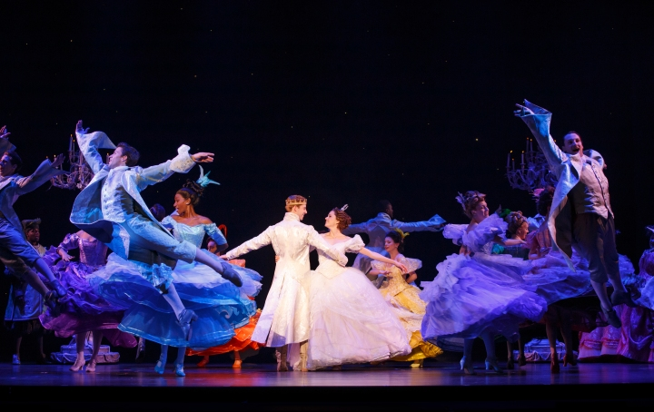 Andy Huntington Jones and Paige Faure in the national tour of Rodgers + Hammerstein's Cinderella. Photo: Carol Rosegg.