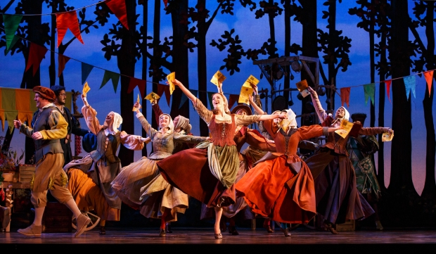 The cast of the national tour of Rodgers + Hammerstein's Cinderella. Photo: Carol Rosegg