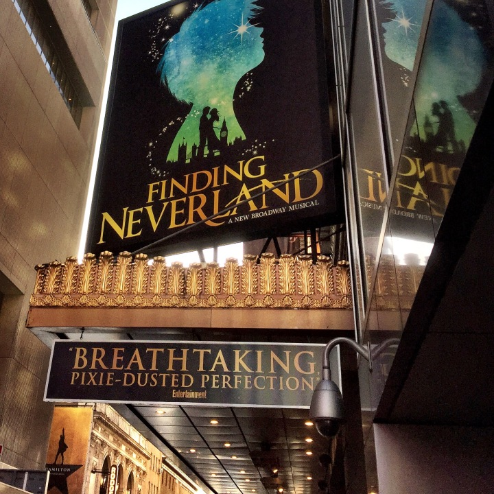 Finding Neverland was one of the highlights of our trip to New York.