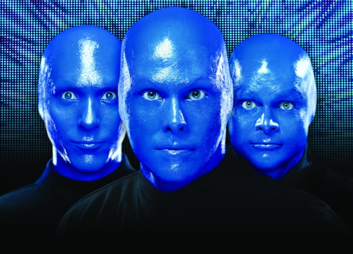The BLUE MAN GROUP returns for a limited engagement Feb. 19-21.