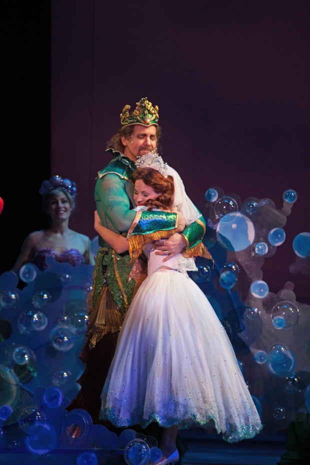 Dallas Summer Musical's production of Disney's THE LITTLE MERMAID will make its Bass Hall debut in 2016. Photo: Chris Waits.