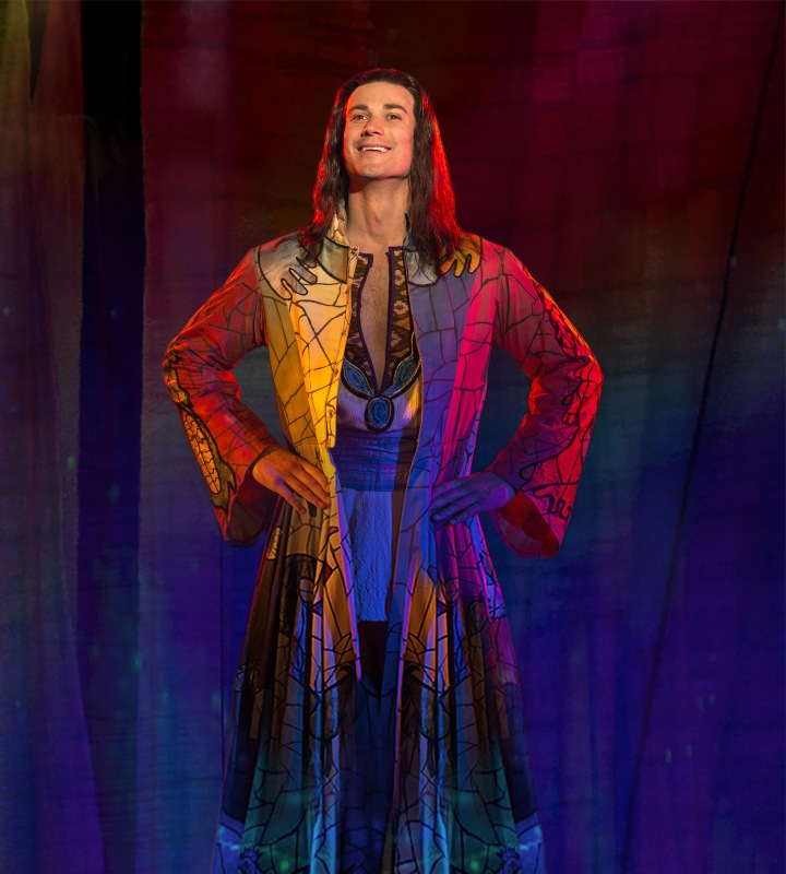 JOSEPH AND THE AMAZING TECHNICOLOR DREAMCOAT will be here Sept. 18-20. Photo: Troika Entertainment.