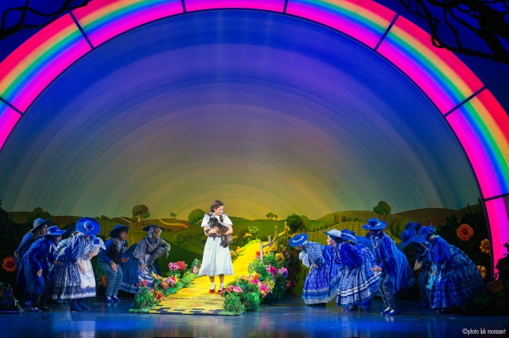 Follow the yellow brick road to Bass Hall for THE WIZARD OF OZ. Photo: Troika Entertainment.