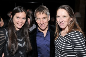 Diane Paulus, Stephen Schwartz and Gypsy Snider on opening night of Pippin in New York. Photo:  Broadway.com
