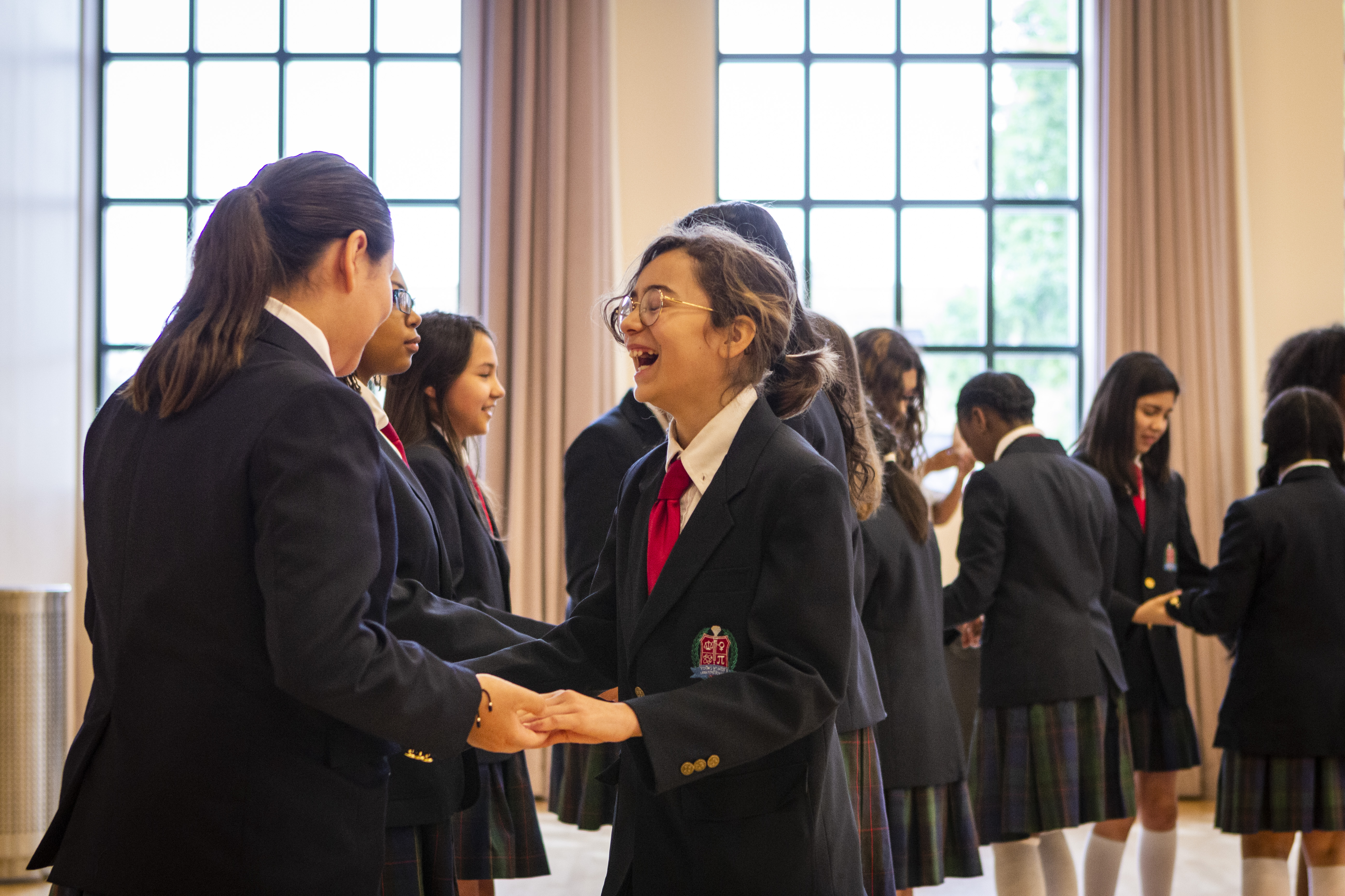 Thumbnail image for Local students get 'on their feet' thanks to Bass Hall Young Patrons Club! blog post