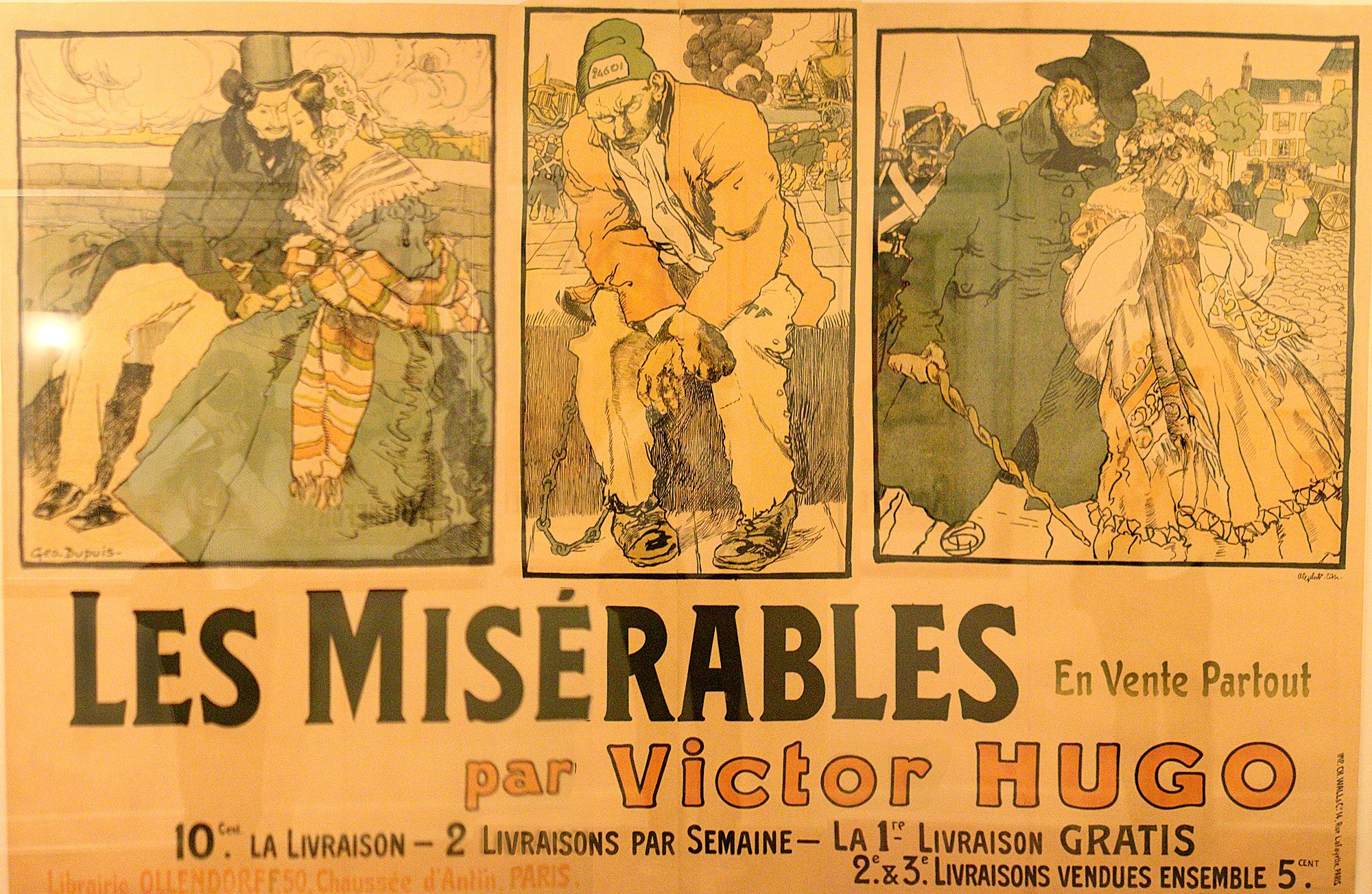 Thumbnail image for One-of-a-kind Les Miz poster on display at Bass Hall blog post