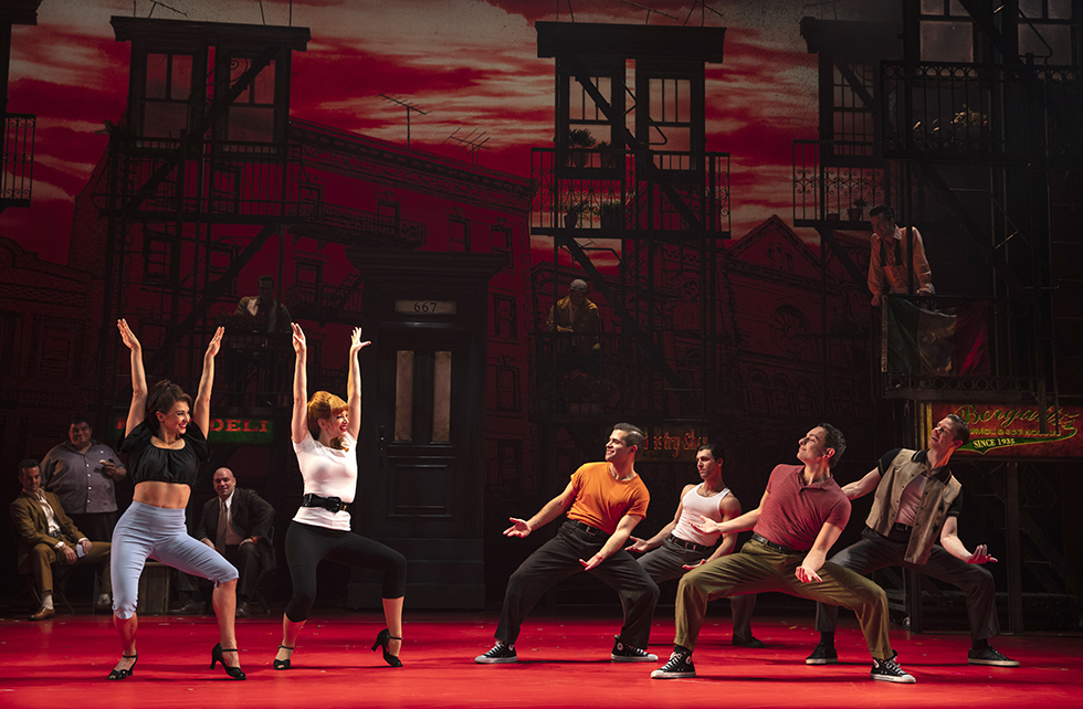Thumbnail image for West Side Story + Jersey Boys = A Bronx Tale, coming to Bass Hall July 23-28! blog post