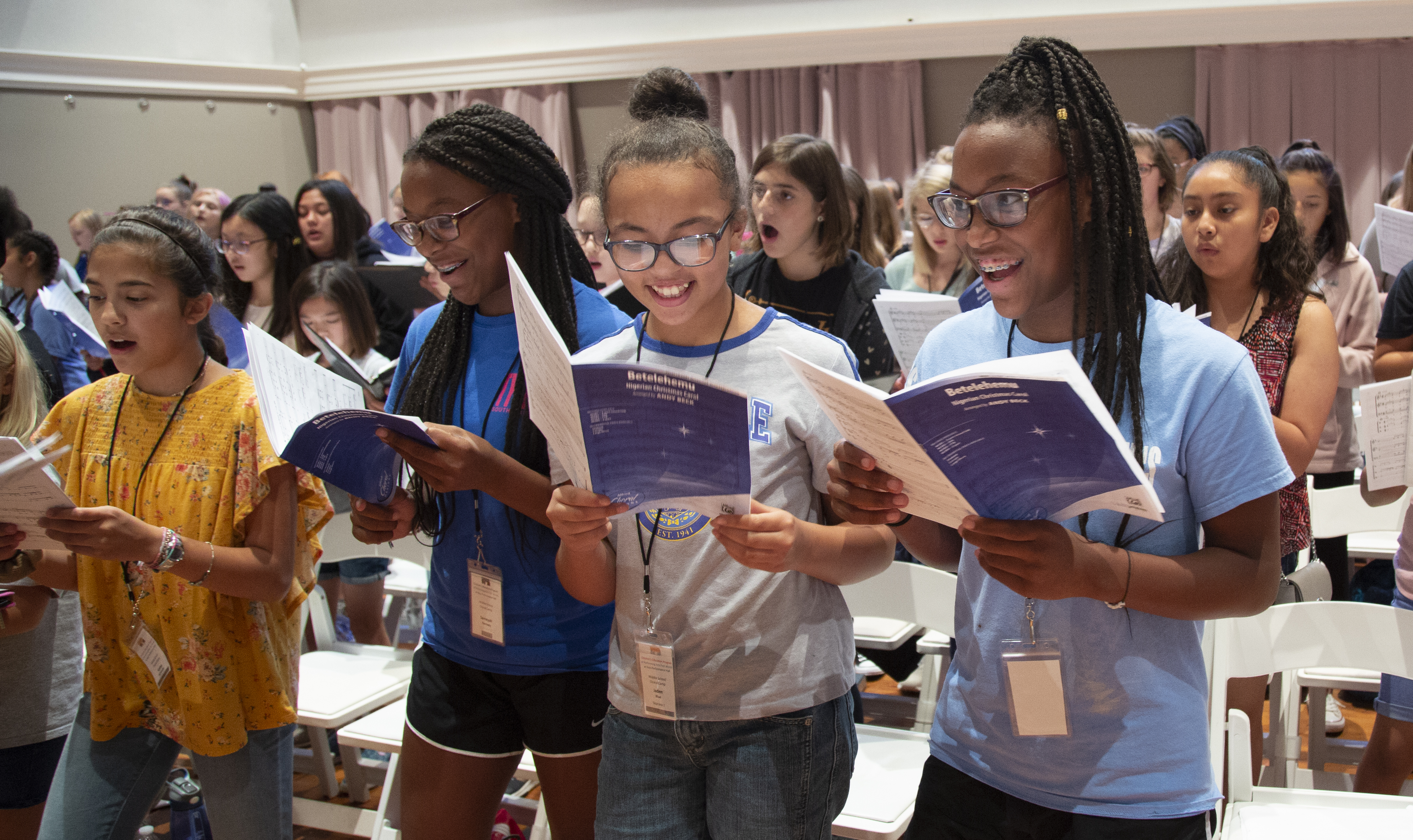 Thumbnail image for Bass Hall Summer Camp is Music to the Ears of Local Students blog post